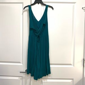 LOFT V-neck Open Back Dress